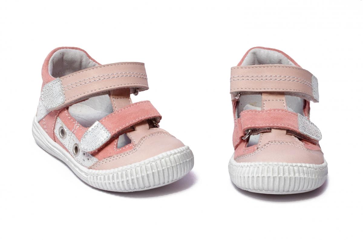 Sandalute fete flexibile hokide 386 roz 18-25