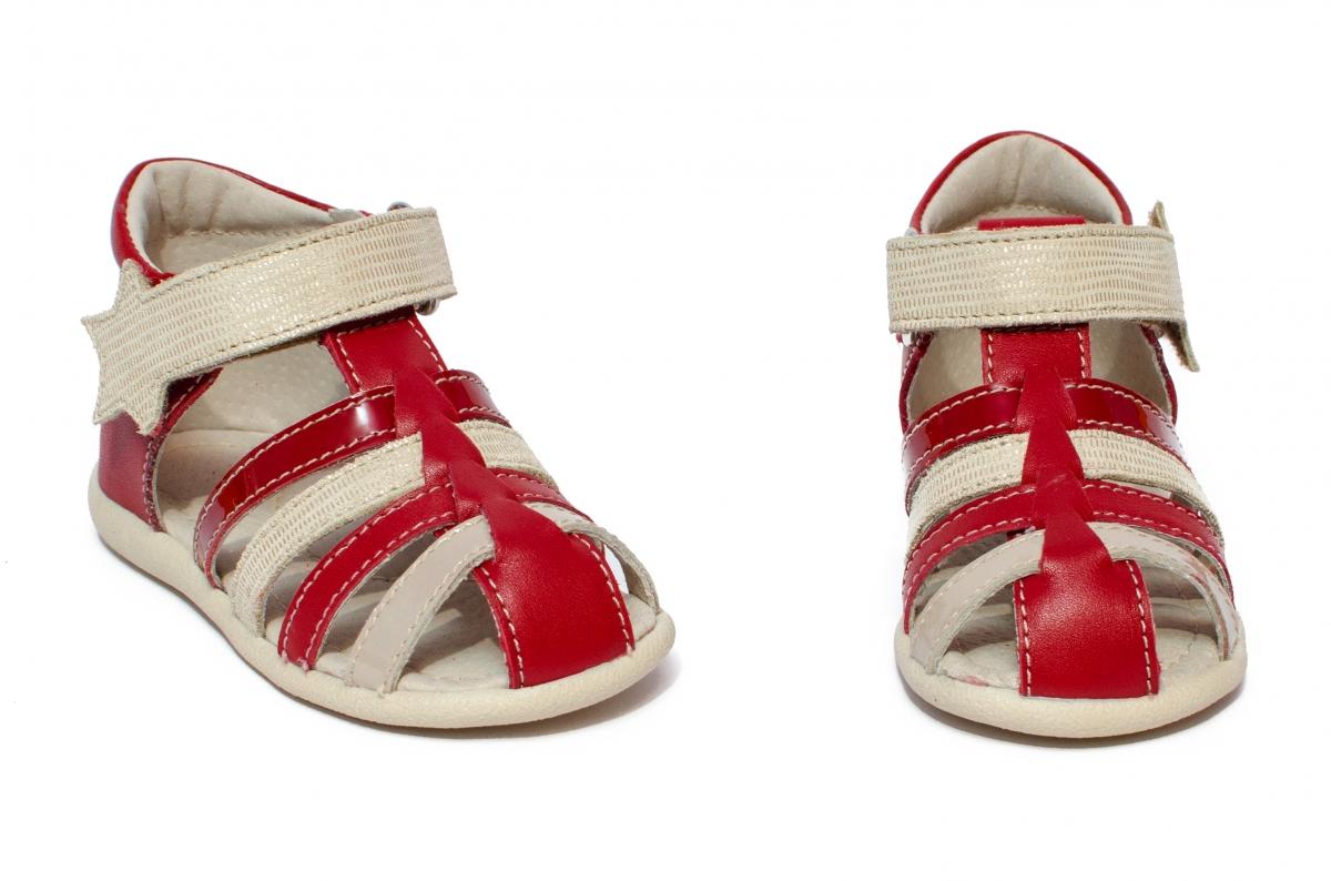 Sandalute fete hokide 406 rosu 18-24