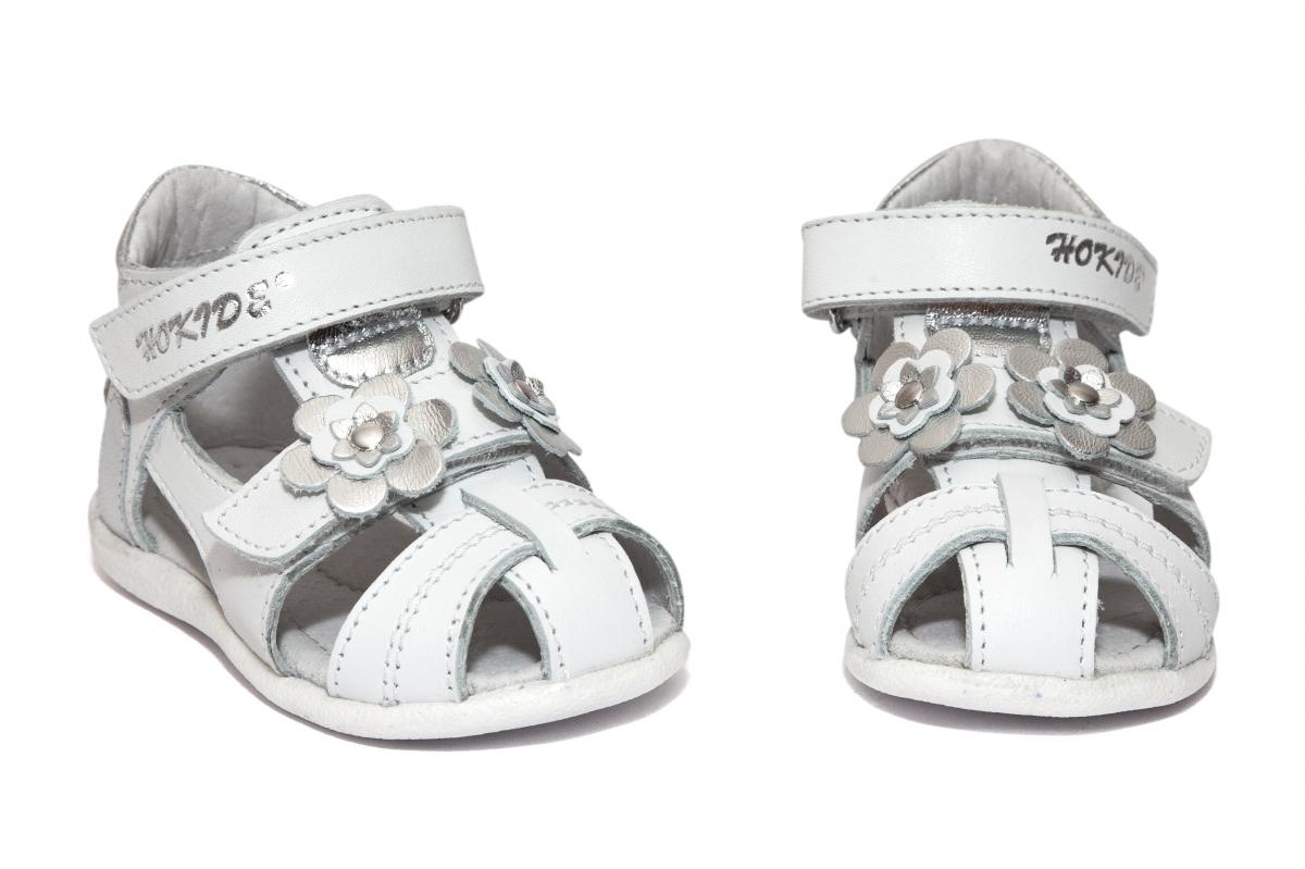 Sandalute fete hokide picior lat 405 alb 18-25
