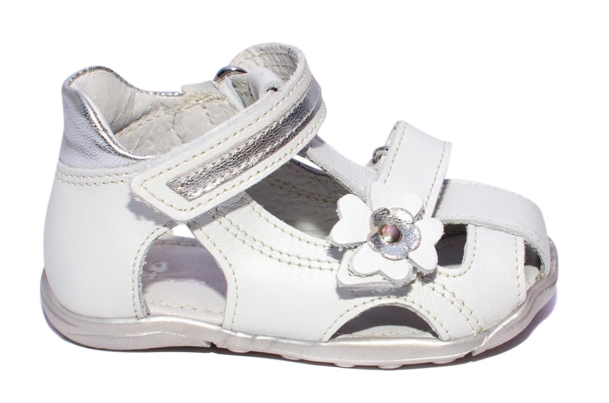 Sandalute fete pj shoes Mario alb 18-26