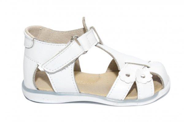 Sandalute fetite 346 alb 18-25