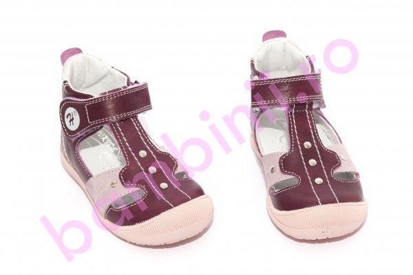 Sandalute fetite hokide 273 bordo roz 18-24