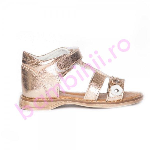 Sandalute fetite pj shoes Eva bronz 20-26