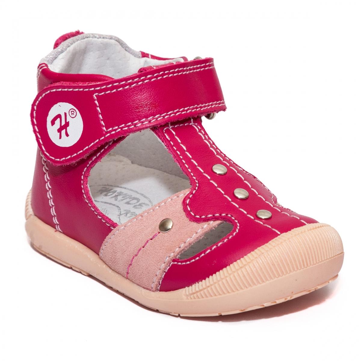 Sandalute ortopedice fete hokide 273 fuxia roz 18-24