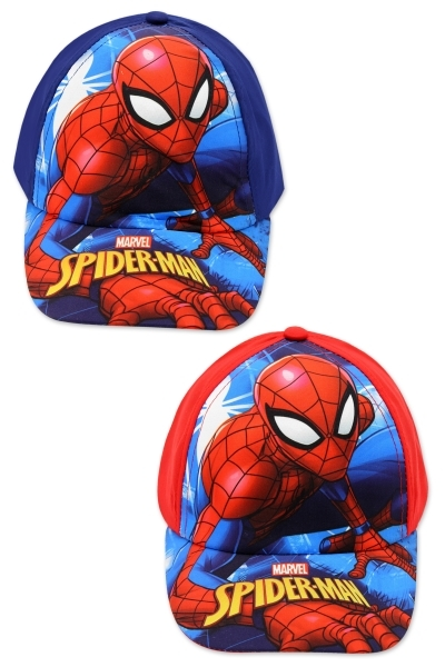 Sapca baieti Disney Spiderman blu rosu 52-54cm