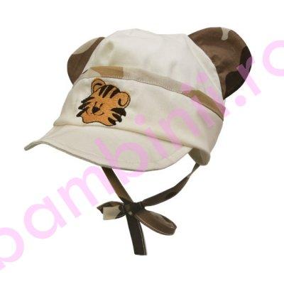 Sapca baieti tigru S159 bej 44-46