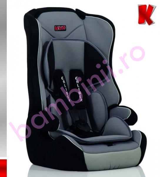 Scaun auto copii Caliber Kiddo 09-36 kg rosu