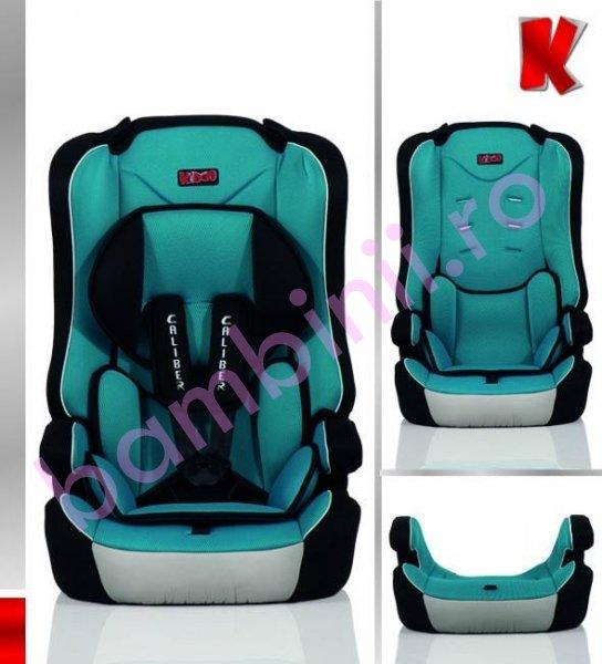 Scaun auto copii Caliber Kiddo 09-36 kg gri