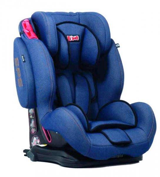 Scaun auto copii Kiddo Cruizer GTS 09-36 kg Isofix Jeans