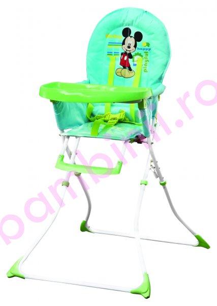 Scaun de masa copii cu imprimeu Disney 6002