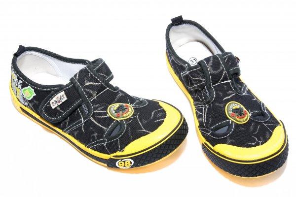 Tenisi baieti 9918 negru galben 30-35