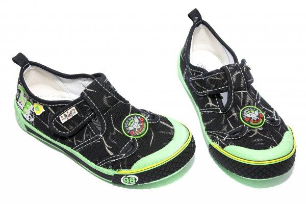 Tenisi baieti 9918 negru verde 30-35