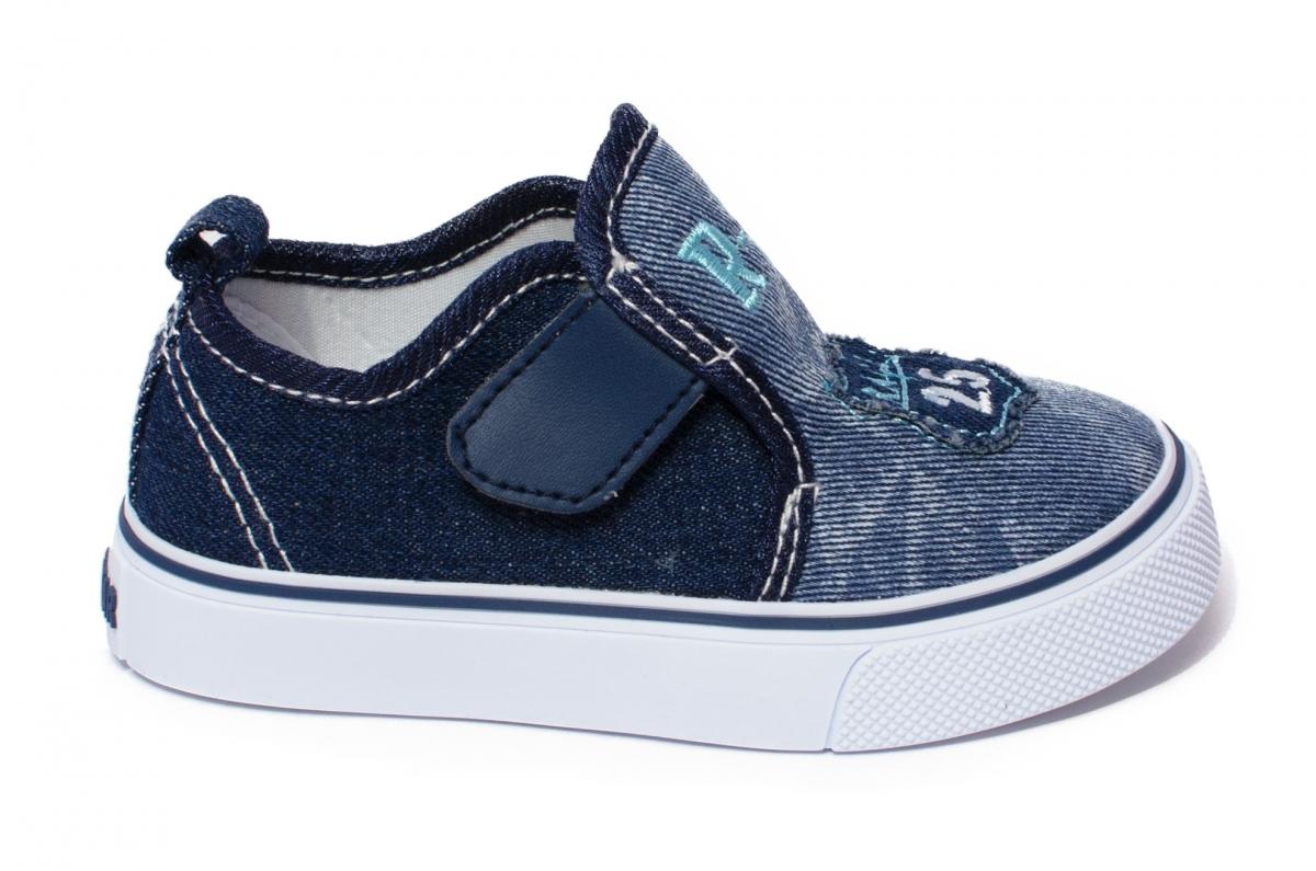 Tenisi baieti textil 1097 blu 20-25