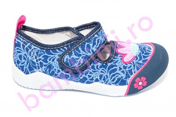 Tenisi balerini fete 435 blu roz 26-31