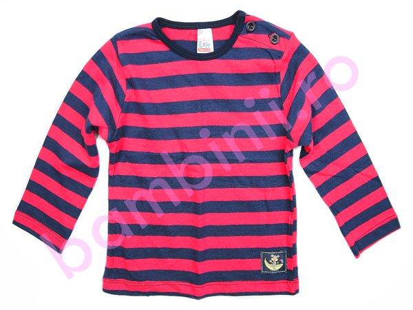 Tricouri copii cu maneca lunga 1045 blu ciclam