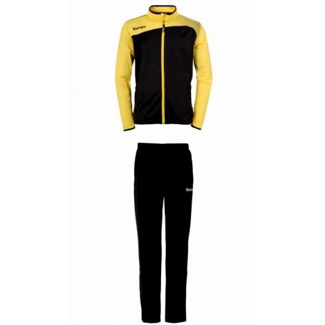 Trening Kempa Emotion Classic galben negru 3XS-3XL