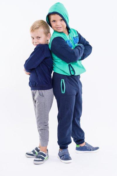 Treninguri baieti 4009 blu verde 98-128cm