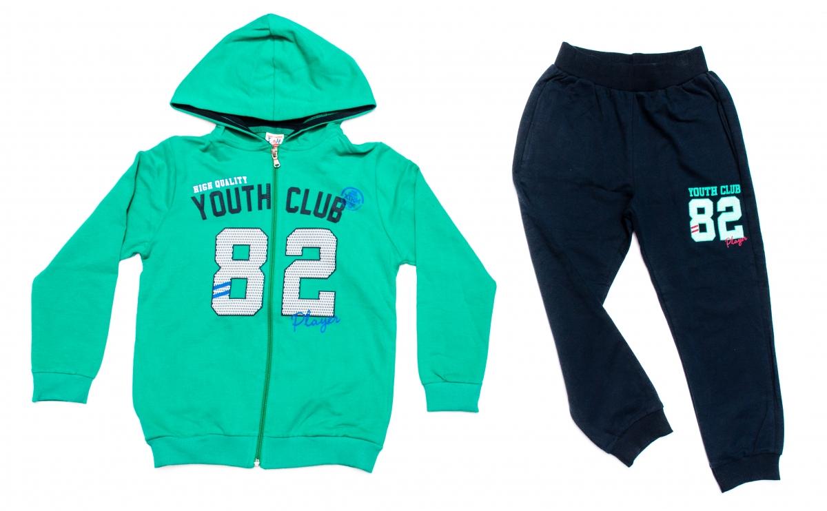 Treninguri copii 1038 verde blu 110-164cm