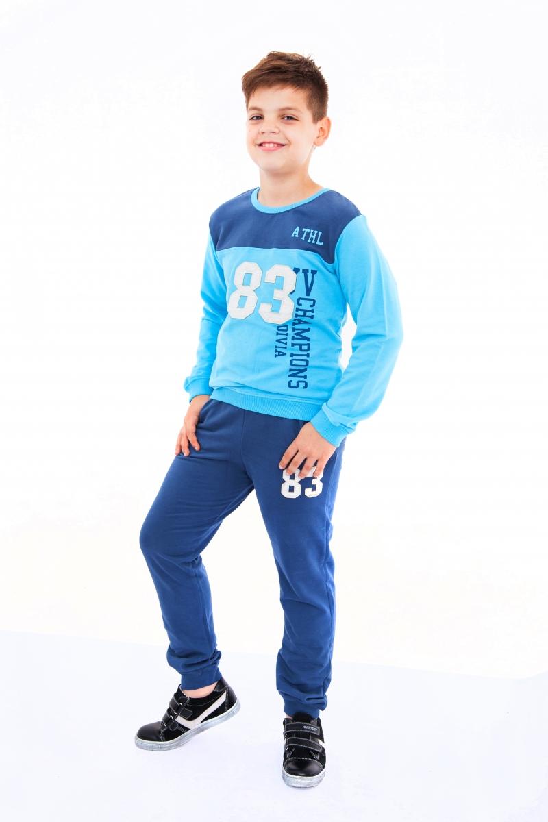 Treninguri copii EH 2356 blu turcoaz 5-13ani