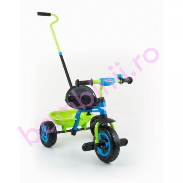 Tricicleta copii turbo 336 blue green