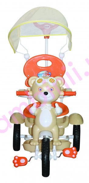 Triciclete copii Kiddo Pilot Bear 12010