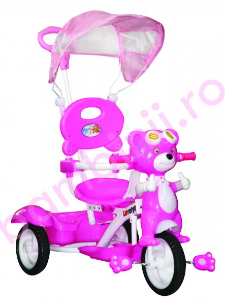 Triciclete copii Kiddo Pilot Bear 12010