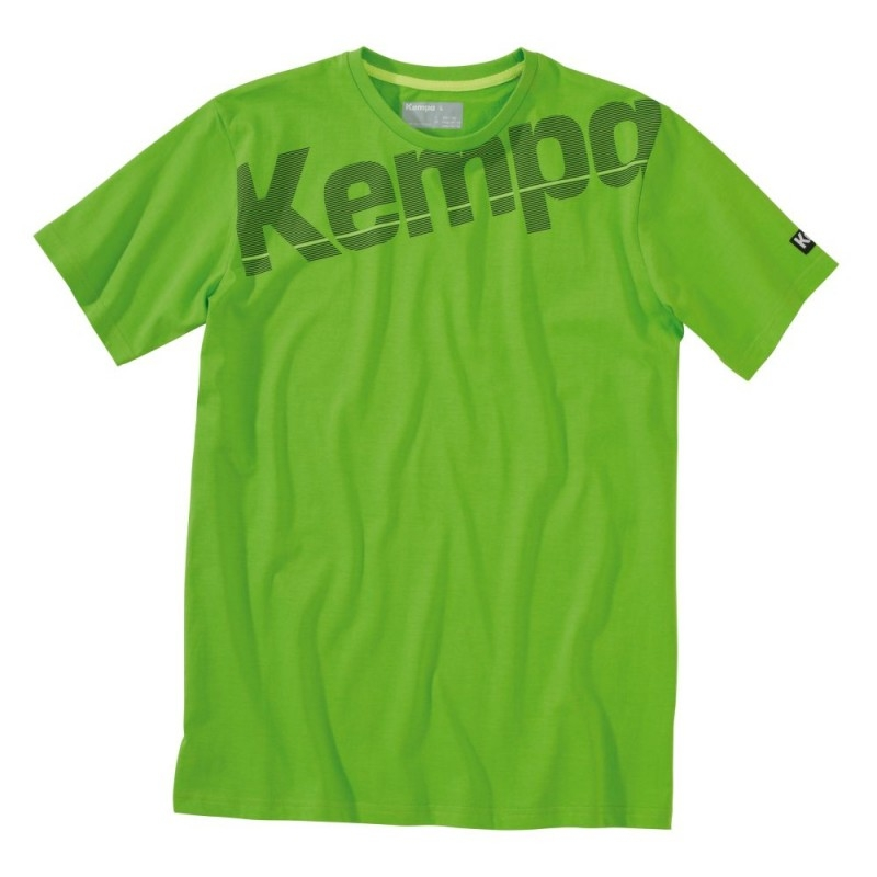 Tricouri Kempa Core copii adulti verde 2XS-3XL