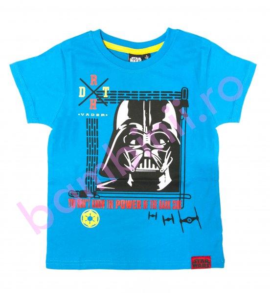 Tricouri baieti Star Wars 9338 albastru 98-164