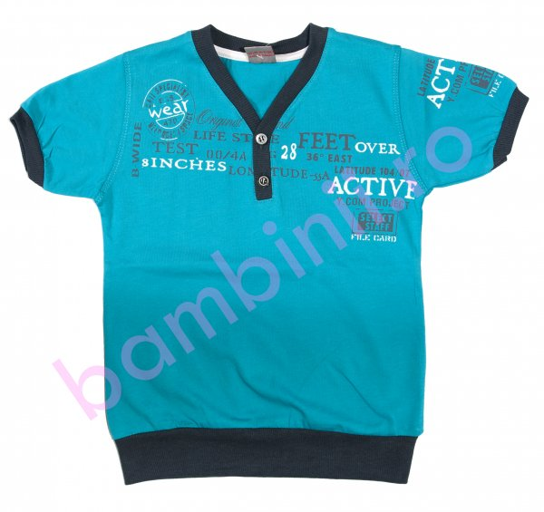 Tricouri copii 2836 albastru