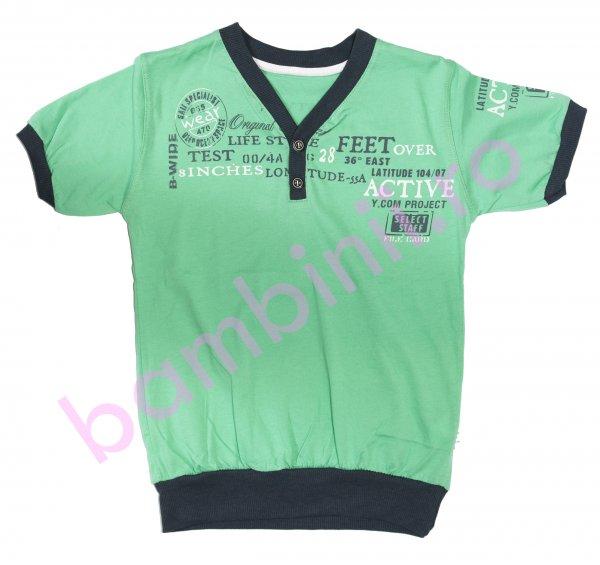 Tricouri copii 2836 verde