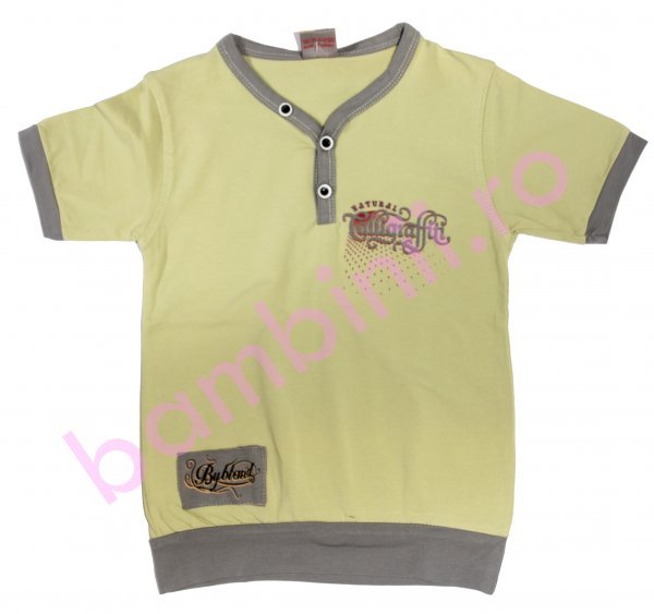 Tricouri copii 2837 vernil 2-7ani