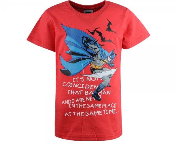 Tricouri copii Batman 8573 rosu 104-134