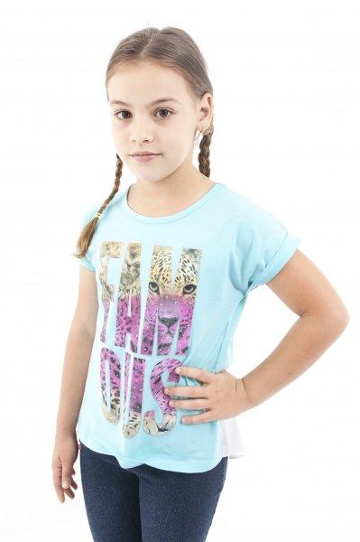 Tricouri fete 1192 turcoaz
