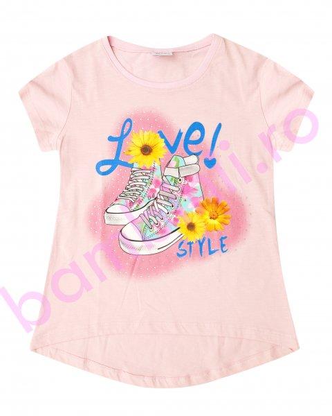 Tricouri fete 5320 roz