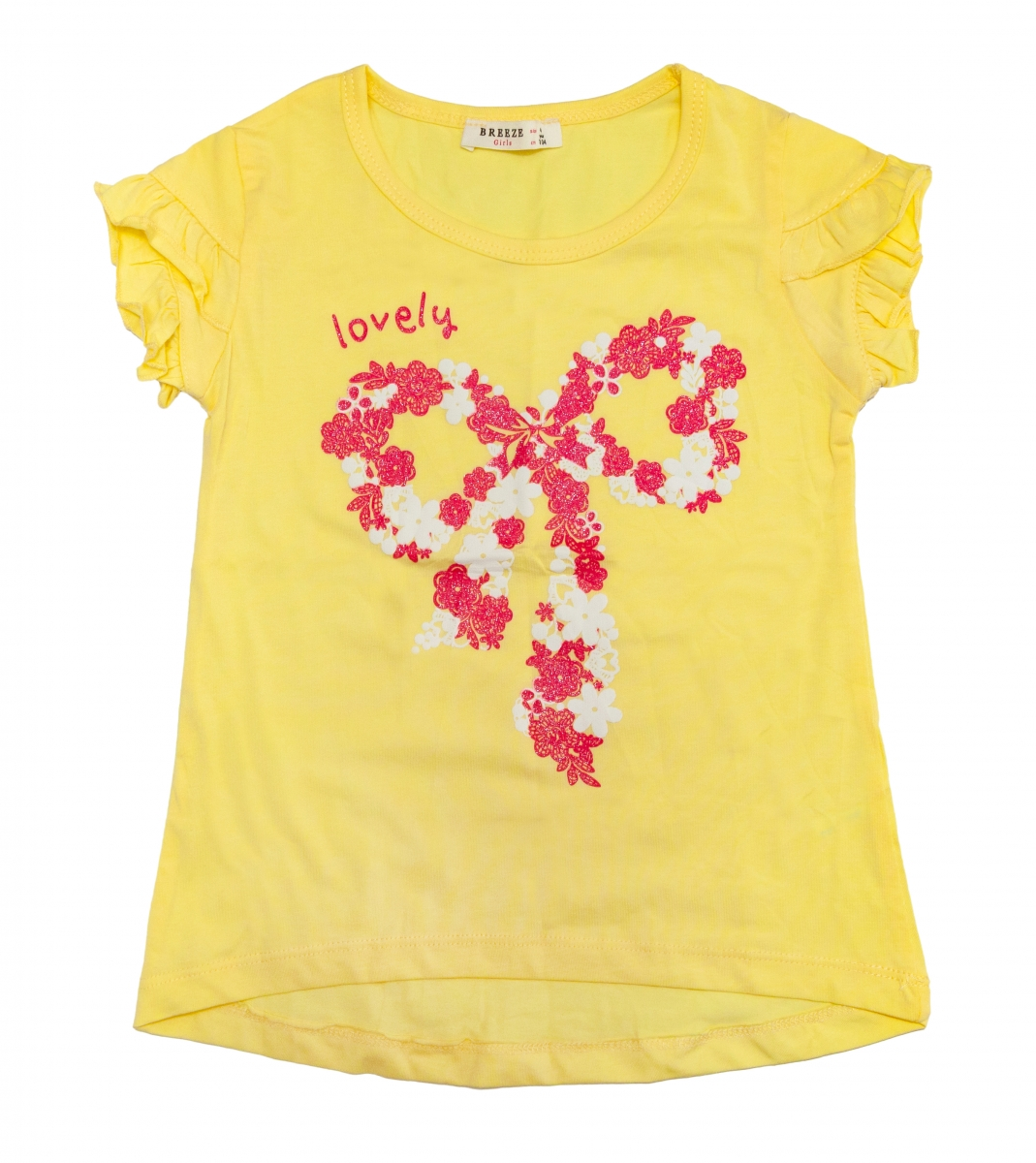 Tricouri fete breeze 1705 piersica 104-140cm
