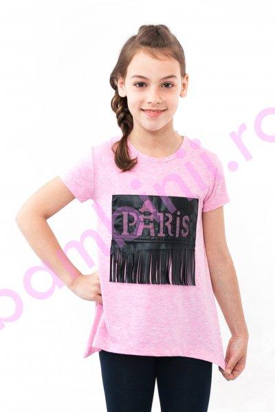 Tricouri fete breeze 8296 alb 128-152cm