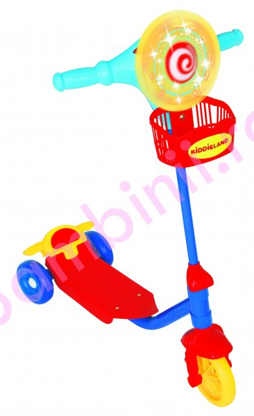 Trotineta copii kiddo Muzical Activity Scooter 12006