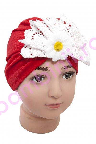 Turbane fete 278 roz 44-48cm
