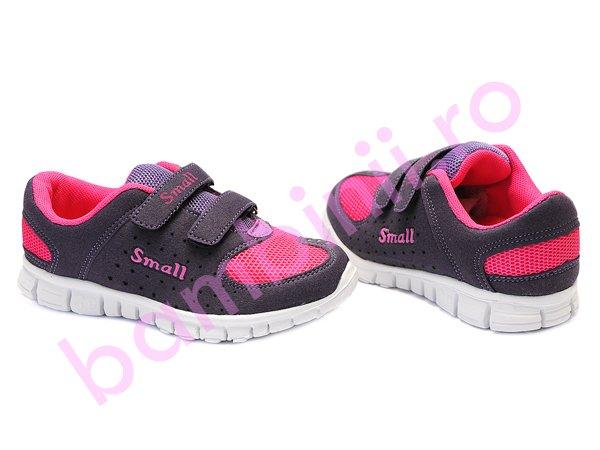Adidasi fete Small mov roz
