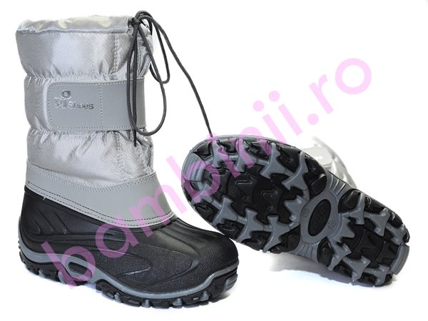 Apreskiuri copii Pj Shoes FUN gri new