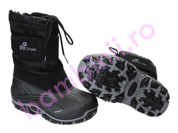 Apreschiuri copii Pj Shoes FUN negru
