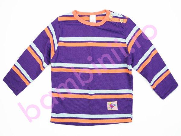 Tricouri copii cu maneca lunga 1045 indigo port