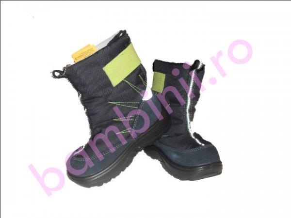 Boots copii blu-verde