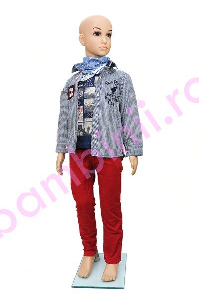 Compleu baieti 1170 rosu blu 80cm-104cm