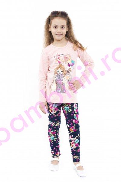 Compleuri fete 999 roz 116-152 cm