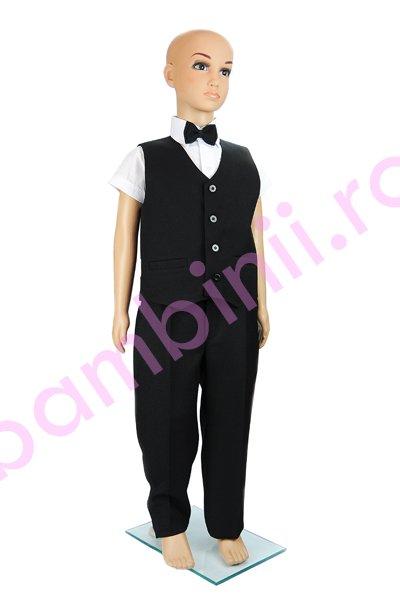 Costum baieti elegant 1035 negru
