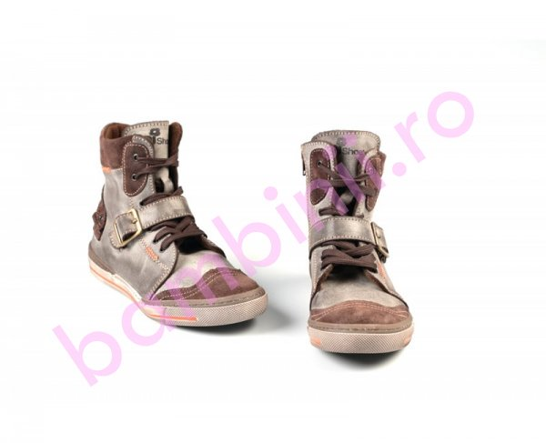 Ghete imblanite copii pj shoes Roma bej