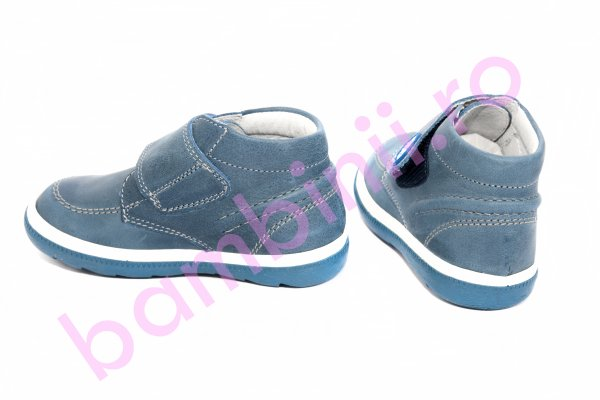 Ghete baieti pj shoes Edy blu 20-29