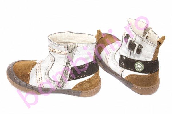 Ghete copii blana pj shoes Jonas bej 27-34