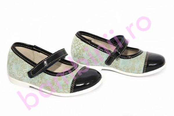 Pantofi copii piele hokide 304 albastru 22-27